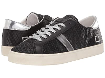 D.A.T.E. Hill Low (Pong Black) Women