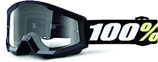 100% 50600-001-02 STRATA MINI bril zwart - heldere lens