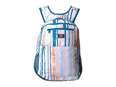 Roxy Here You Are Backpack (Bright White River) Backpack Bags