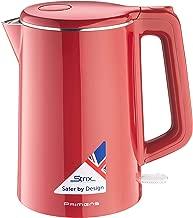 hot water in kettle