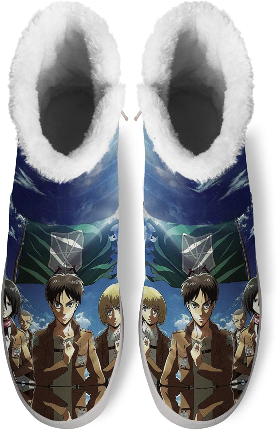 Japanese Anime Snow Boots for Men Women New Free Shipping High material Cosplay B 3D Print