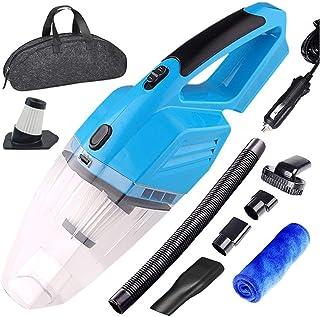 Vacuum, Car Vacuum Cleaner Car Handheld Vacuum Cleaner for Car Powerful Vacuum Cleaner Car 真空吸尘器 (Color : Blue)