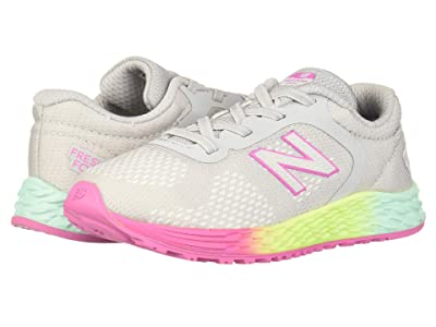 New Balance Kids Arishi v2 (Infant/Toddler) (Light Aluminum/Rainbow) Girls Shoes