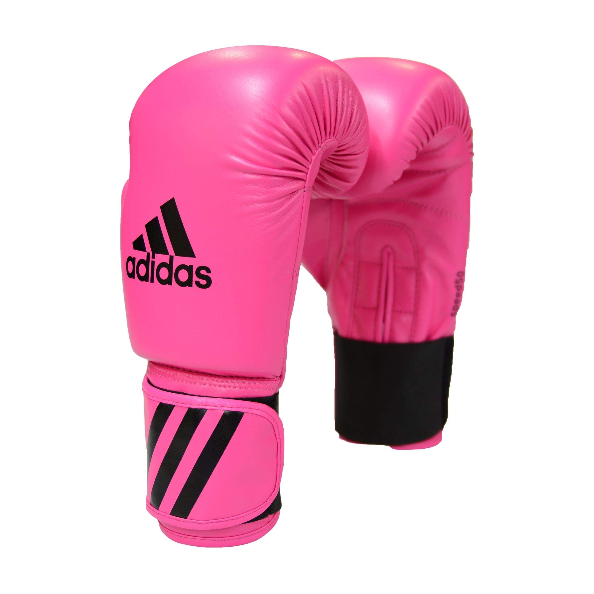 adidas Leather MMA Pink Gloves Sparring Set Focus Mitts Wraps /& Mouthguard