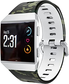 Compatible with Fitbit ionic バンド Yeezii シリコン製 交換ベルト 多色選択 、for Fitbit ionic対応 (I)