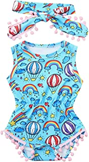 Midbeauty Ballon Adventure Unisex Baby Sleeveless Bodysuit