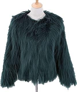 20 Colors Plus Size 4XL Wo Black Fluffy Faux Fur Coats Jackets White FakeWinter Warm Coat Female Outerwear