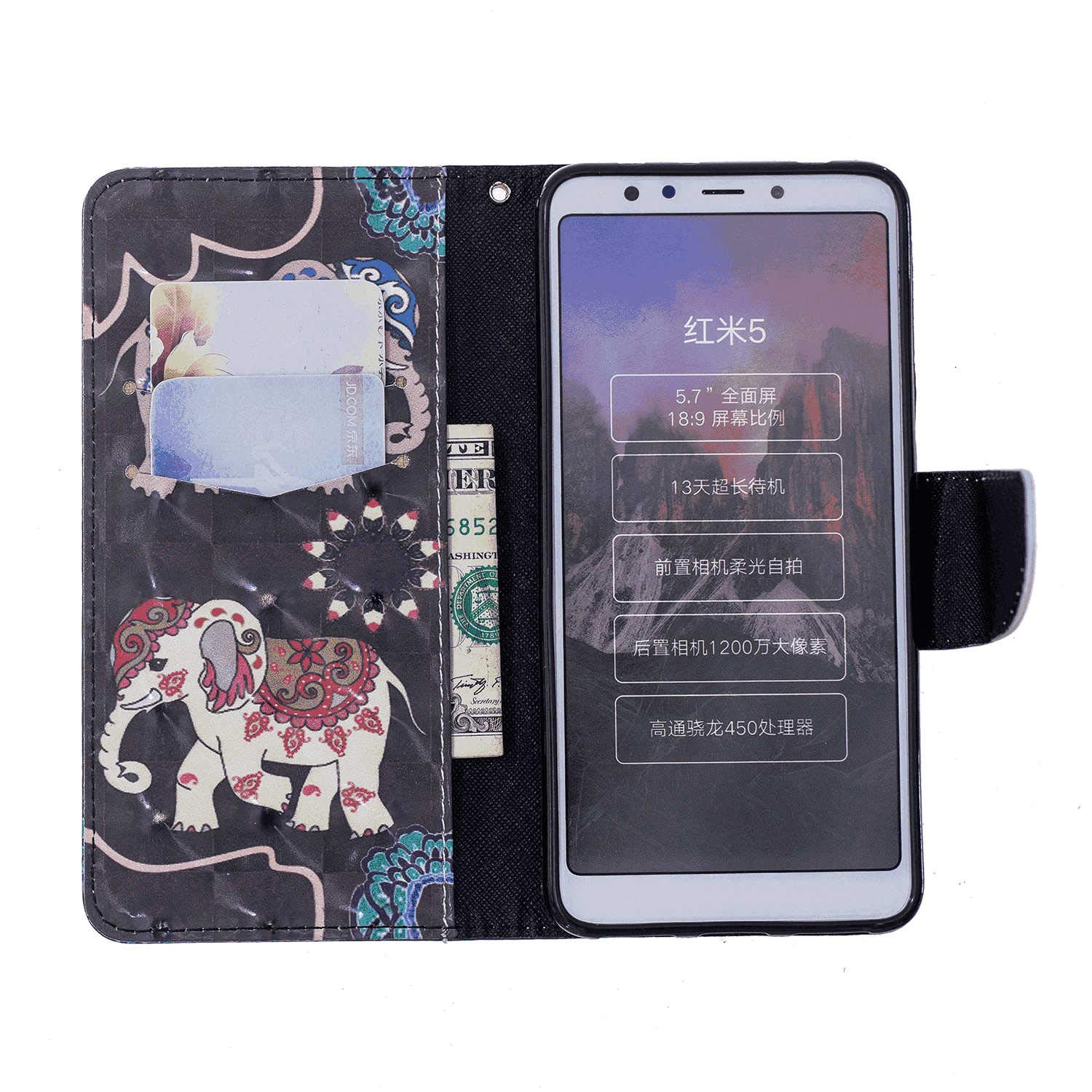 Flip Cover fit for Huawei P30 Business Gifts Simple-Style Leather Case for Huawei P30