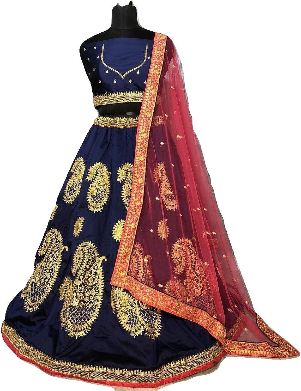 Designer Lehenga Choli Fashion Party Wedding Indian Pakistani Lengha Choli for Women