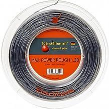 خيط التنس كيرشباوم ريل ماكس باور هارد، 1.30 مم / 16 درجة، رمادي فضي