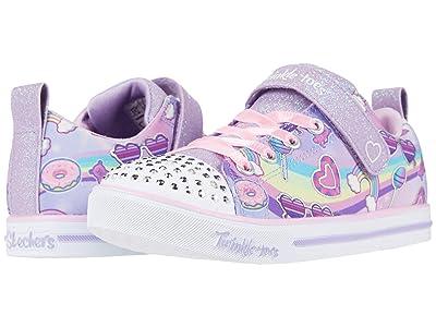 SKECHERS KIDS Twinkle Toes Sparkle Lite Rainbow Skies 314756L (Little Kid) (Lavender/Multi) Girl