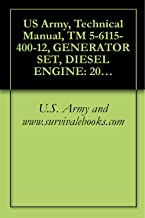 US Army, Technical Manual, TM 5-6115-400-12, GENERATOR SET, DIESEL ENGINE: 200 KW, 60 HZ, AC, 120/208 V, 240/416 V, 3 PHASE, CONVERTIBLE TO 167 KW, 50