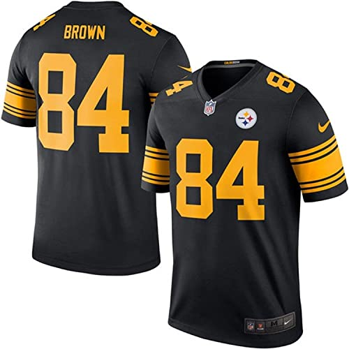 66668598bbf NIKE Antonio Brown Pittsburgh Steelers Color Rush Black Legend Dri-FIT  Jersey - Men's 2XL
