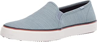 حذاء رياضي حريمي سادة من Keds Double Decker Varsity لون أزرق، مقاس 7. 5 M US