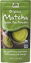 NOW Foods Natural Foods, Certified Organic Matcha Green Tea Powder, Non-GMO Project Verified, 3-Ounce (4253)