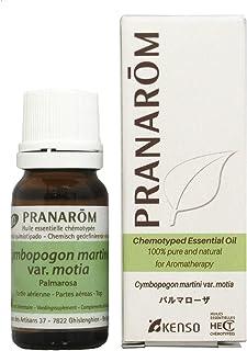 【パルマローザ 10ml】→バラに似たフローラルな香り♪(リラックスハーブ系)[PRANAROM(プラナロム)精油/アロマオイル/エッセンシャルオイル]P-59