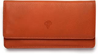 VINTAGE9 Women's Leather Wallet/Clutches ,Tan - Musa