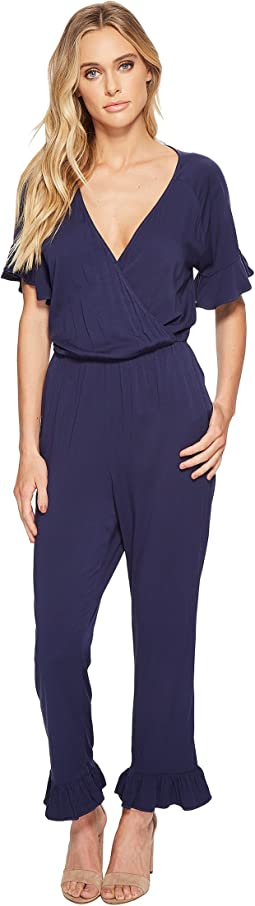 Rylie Rayon Ruffle Jumpsuit