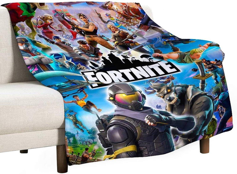 Epic Ranking TOP20 Games 3D Vivid shopping Fleece Ultra-Soft Blanket Throw Light Fuzzy