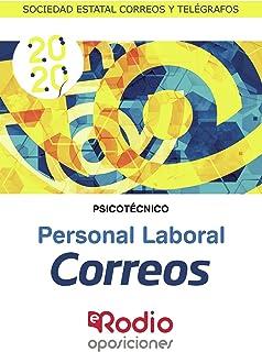 Correos. Personal laboral. Psicotécnico: Sociedad Estatal Correos y Telégrafos: 1 Oposiciones: Amazon.es: autores, Varios: Libros