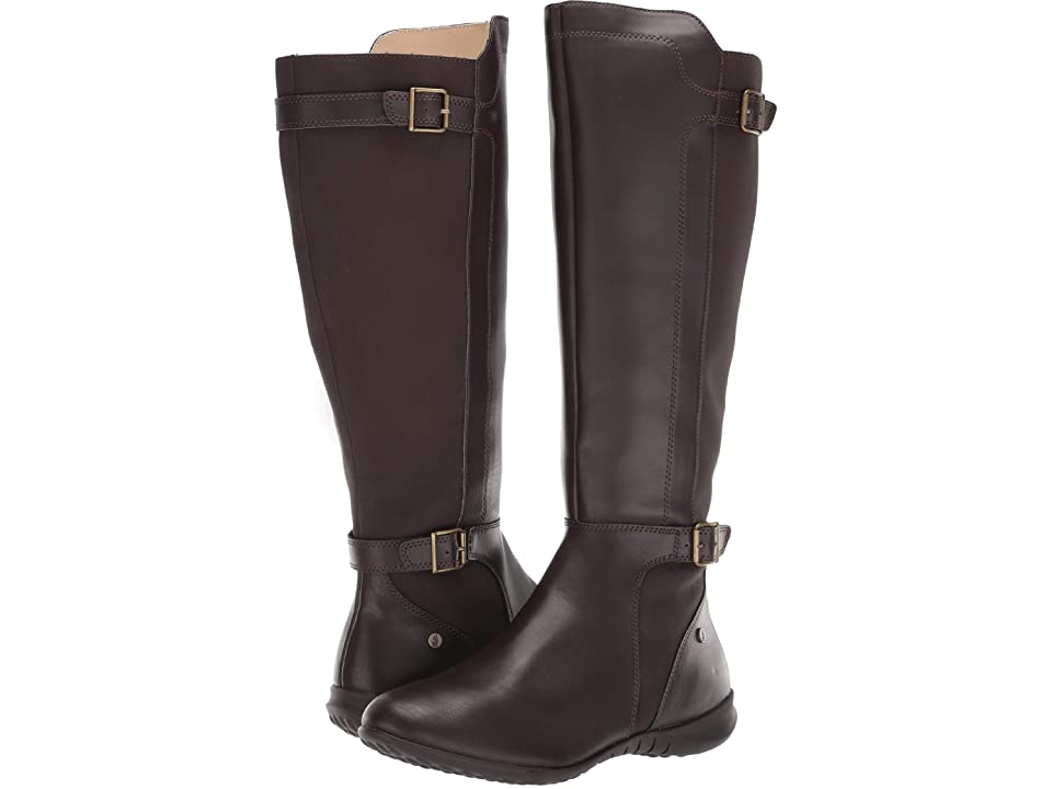 Hush Puppies Bria Tall Boot (Dark Brown PU) Women