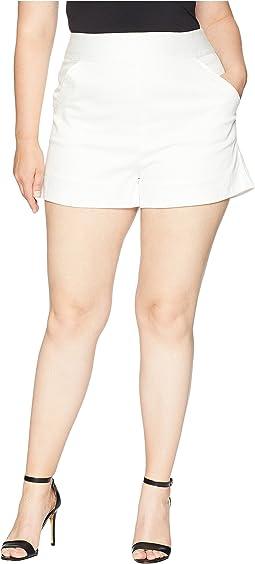 Plus Size High-Waist Sardi Shorts