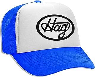 Unisex Adult Trucker Hat Merle Haggard Hag Logo Adjustable Mesh Cap Baseball Cap