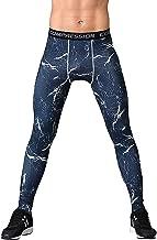 ZITY Mens Sport Compression Leggings Base Layer Long Pants Camo Trousers