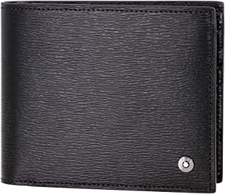 11836bb9a9c2 Montblanc 4810 Westside Men's Small Leather Wallet 11CC With View Pocket  114690