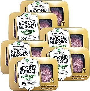 comprar comparacion Beyond Meat Burger   Hamburguesa 100% Vegetal   Plant Based   Sin Gluten   Sin Soja   Vegano   2 porciones (227g) (Pack de 6)