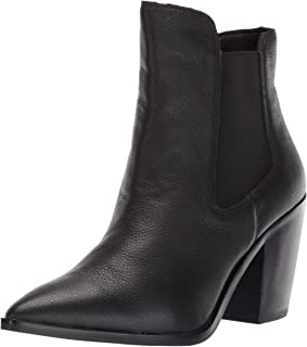 Chinese Laundry Women's Utah Ankle Boot, Black Leather, 10 M US