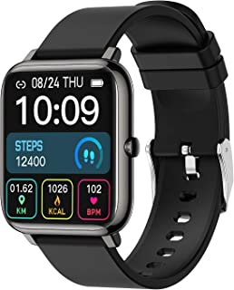 Smart Watch, Fitness Activity Tracker 1.4 Inch Touch Screen Watch Heart Rate and Sleep Monitor IP67 Waterproof Smartwatchs Fitness Compatible with iOS Andorid Sport Digital Smartwatch for Women Men