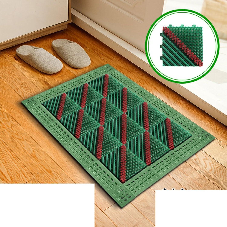 Floor Mat Foot Pad Doormat Plastic Mats in The Hall Cut Mat Indoor Mats-I 60x90cm(24x35inch)