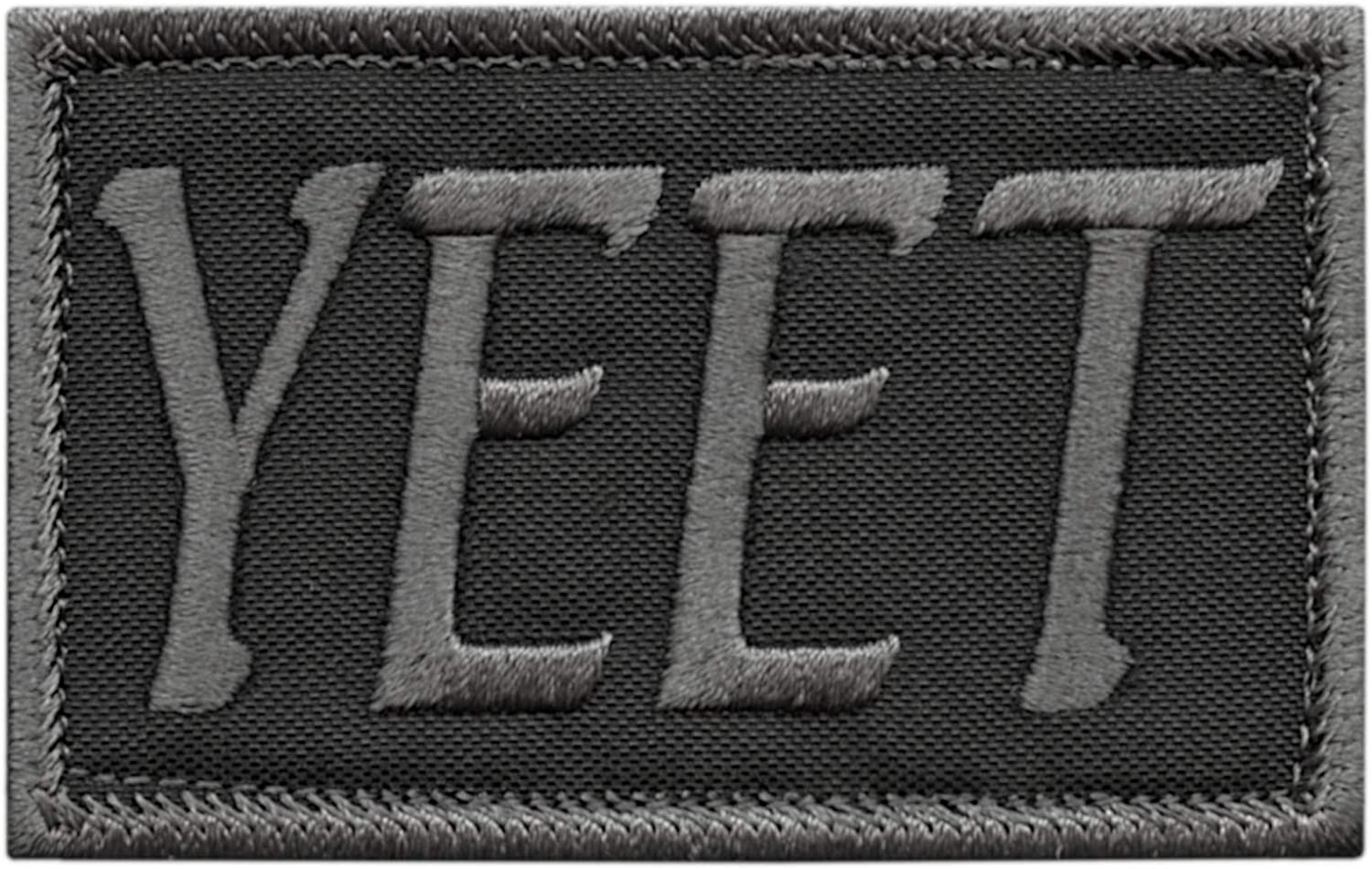 LEGEEON Subdued Yeet 25% OFF Funny 2x3.25 HookLoop Morale Special sale item Tactical Army