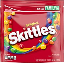 SKITTLES Original Fruity Candy, 27.5-Ounce Family Size Bag