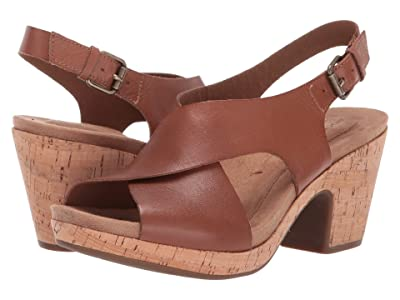 Rockport Cobb Hill Collection Alleah Sling (Tan) Women