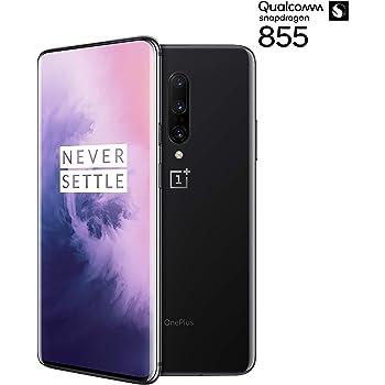 OnePlus 7 PRO 256GB ROM + 8GB RAM Dual-SIM (GSM, CDMA) Factory Unlocked 4G/LTE Smartphone - International Version (Mirror Grey)
