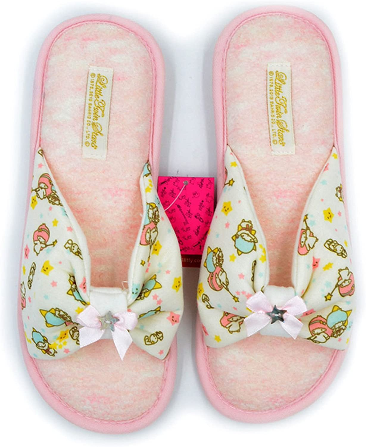 Joddie Haha Sandals Spring Summer Japanese Household Slippers Female Bowknot Breathable Cotton Antiskid Lady Indoor Slippers