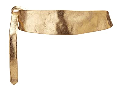 ADA Collection Obi Classic Wrap Belt (Golden Shimmer) Women