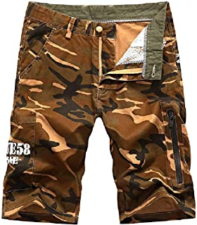 VITryst Mens Multi-Pockets Plus Size Camouflage Soft Floral Printed Cargo Pants