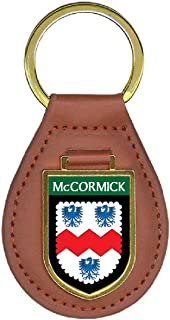 McCormick Family Crest 4 Coat of Arms Key Chains