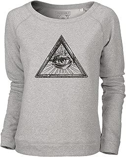 Illuminati Eye Bambini Manica lunga T-shirt illuminati Free Masons Lodge occhio