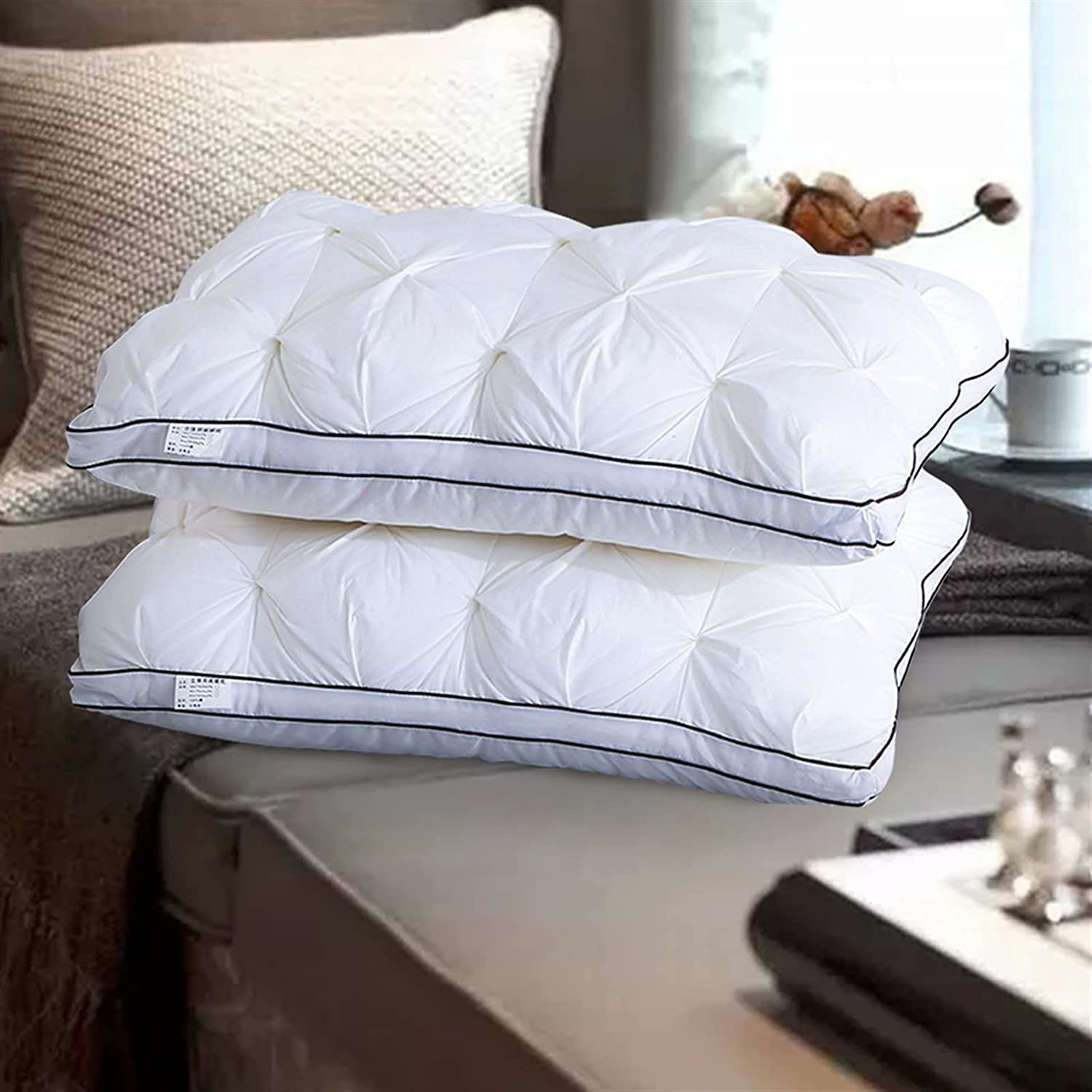 TIYKI 100% Max 40% OFF New product Cotton Sleeping Pillow Pillows Comfortable and f Soft