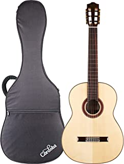 Cordoba C7 SP Nylon String Classical Acoustic Guitar with Cordoba Polyfoam Case