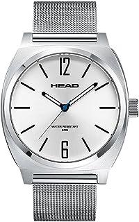 Head Reloj Analógico para Unisex Adultos de Cuarzo con Correa en Acero Inoxidable HE-010-01