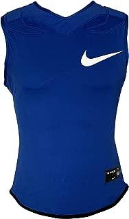 Men's Vapor Speed Pro Sleeveless Football Top Dri-Fit Training Tank Top w/Shoulder Pads