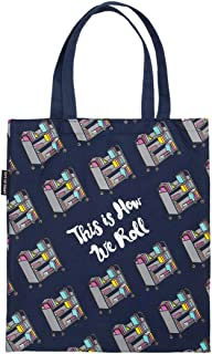 Literary and Book-Themed Canvas Tote Carrying Bag for Book Lovers, Readers, and Bibliophiles
