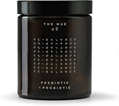 The Nue Co. - Natural Prebiotic + Probiotic | Improves Gut Health, Vegan, Time-Delayed Capsules (90 Capsules)