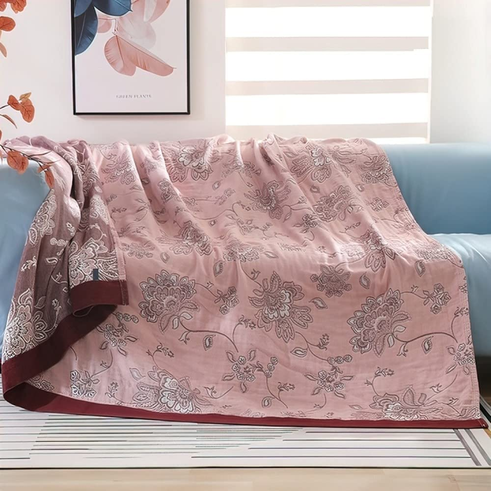 Pure Cotton Gauze Double Muslin Summer War Bed Industry No. 1 Cheap mail order specialty store Blanket Throw for