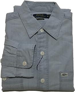 (ポロ ラルフローレン) 長袖 シャンブレーシャツ ブルー Polo Ralph Lauren 633 [並行輸入品]